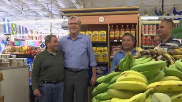 Jeb Bush visita comunidad latina en Colorado