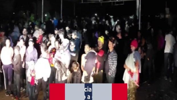 [TLMD - LV] Revelan fotos de niños durmiendo en albergues desbordados en la frontera