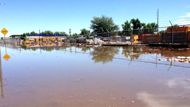Zonas en peligro cerca de Greeley por las lluvias