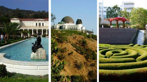 Parques de encanto en Los Ángeles
