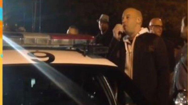 Video: Vin Diesel llora en su adiós a Paul Walker