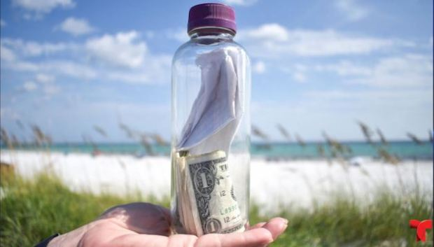 [TLMD - NATL] Conmovedora historia tras botella con cenizas hallada en una playa