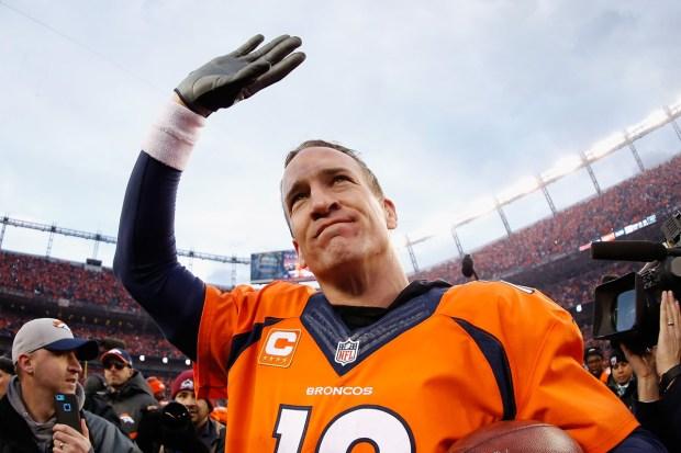 Peyton Manning, el quarterback de los Denver Broncos