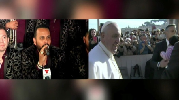 Banda La Adictiva cantará al Papa pese a críticas