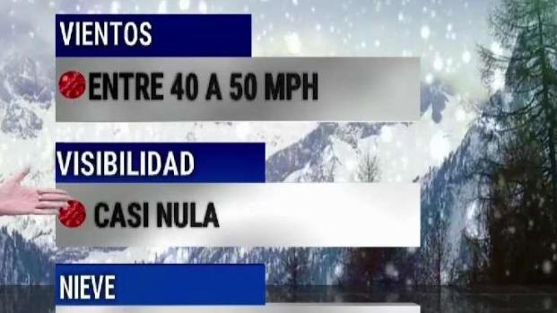 [TLMD - Denver] Nieve y frío se espera en Colorado este miércoles
