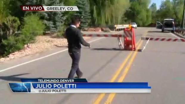 Alerta por inundación en Greeley