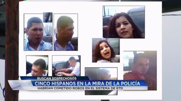 Cinco hispanos en la mira de la policía