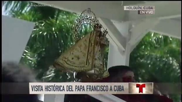 El Papa celebra la eucaristía en Holguín