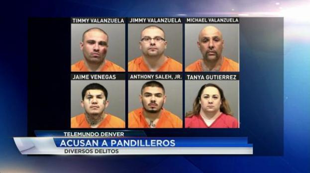 Acusados de delincuencia organizada en Colorado