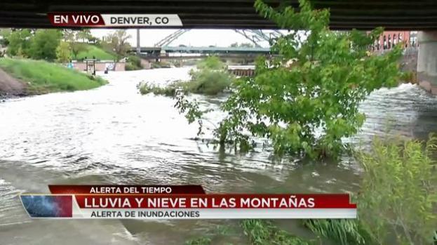 Denver en alerta por el alto nivel de agua en los ríos
