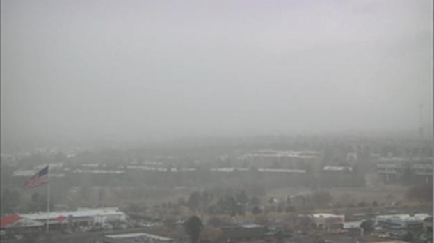 La nieve cubre a Colorado