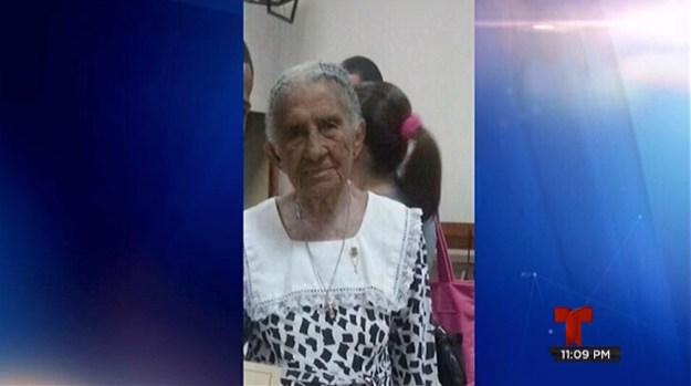 Fotos: Muere arrollada a días de cumplir 101 años