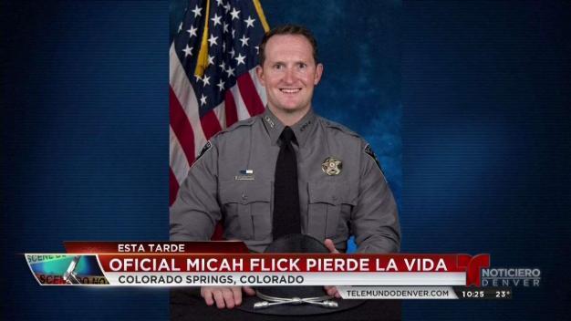 Balean oficial de la policía en Colorado Springs