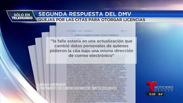 DMV admite error