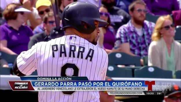 Gerardo Parra pasó por el quirófano