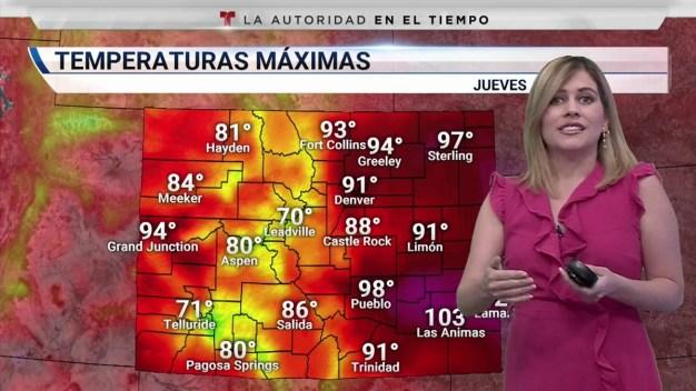 Mucho calor y baja posibilidad de lluvias
