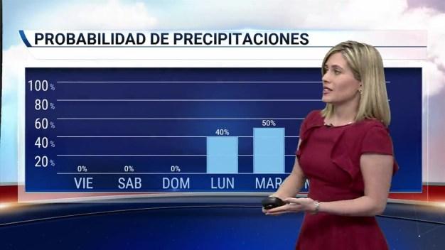 Temperaturas más bajas próximos días