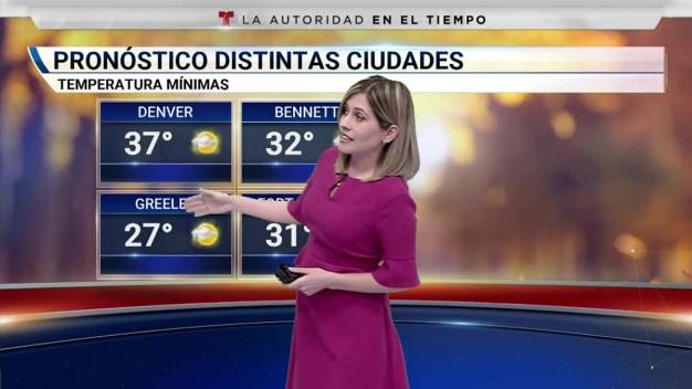 Frío en las mañanas y temperaturas cerca del promedio en la tarde