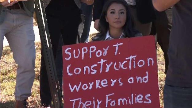 Trabajadores de la construcción en Colorado demandan a su empleador