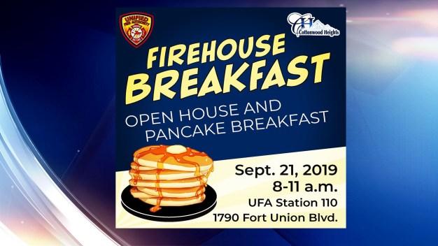 Bomberos unificados desayunan con la comunidad