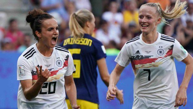 Golazo de Magull puso el 1-0 de Alemania