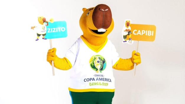 Bautizan a la mascota de la Copa América