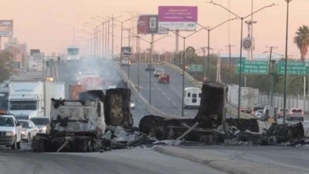EEUU emite recomendación por violencia en Nuevo Laredo