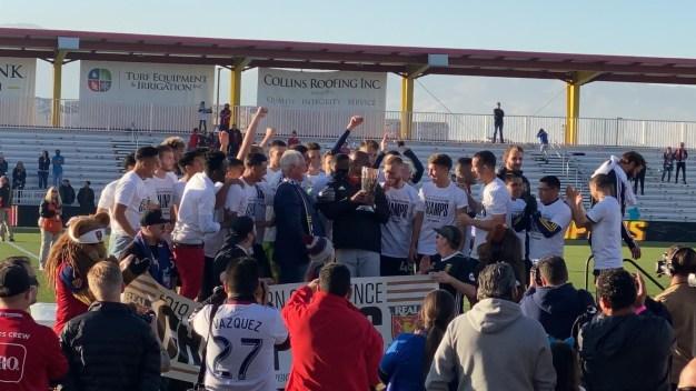 Real Monarchs gana la USL Conferencia Oeste