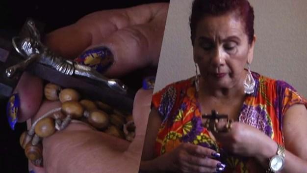 La abuelita de México; ¿tocada por un ser superior?