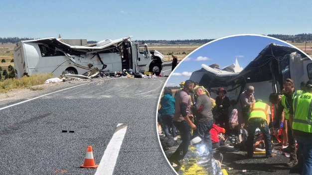 En imágenes: turistas mueren en accidente en Utah