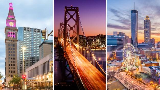 Estudio: mejores ciudades de EEUU para los solteros