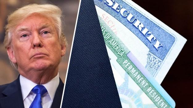 """Trump y la """"green card"""" por matrimonio: los cambios}"""