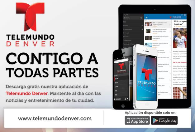Actualiza o descarga gratis la app de Telemundo Denver