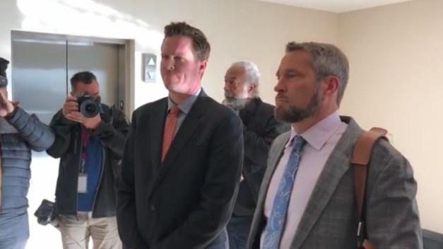Paul Petersen comparece ante la corte del estado de Utah