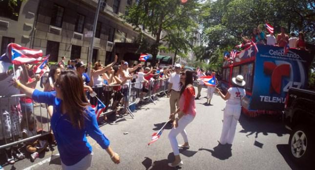 Fotos: Así fue el Desfile Puertorriqueño 2014