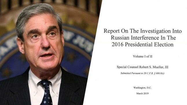 Mueller aparece en público días después de la publicación de polémico informe