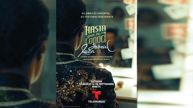 Llega a Telemundo serie sobre la vida de Juan Gabriel