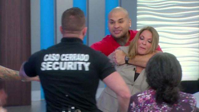 Demandante intenta secuestrar a Ana María Polo