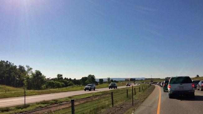 Accidente mortal paraliza el tráfico en la C-470