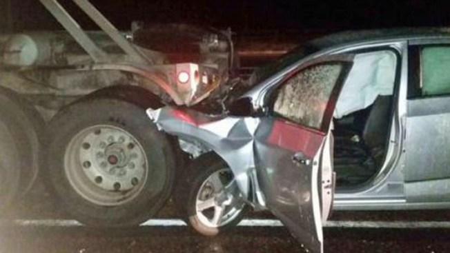 Dos heridos tras accidente en Castle Rock