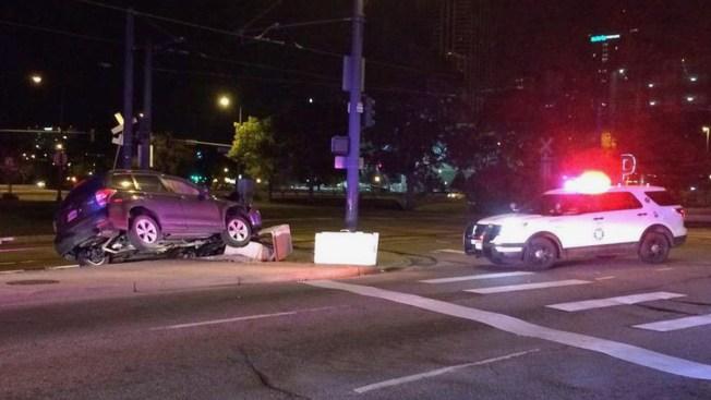 Accidente afecta transporte en el centro