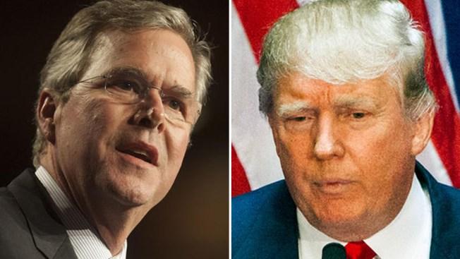 Jeb Bush critica a Donald Trump