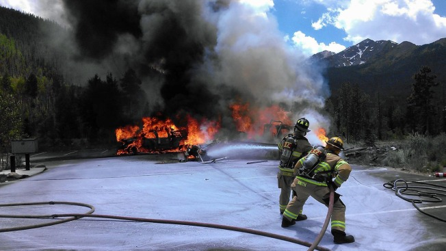 Helicóptero médico se desploma en Frisco