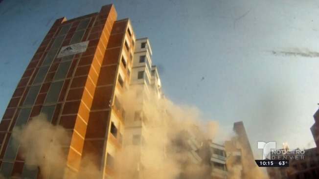 Video: Edificio cae como castillo de naipes