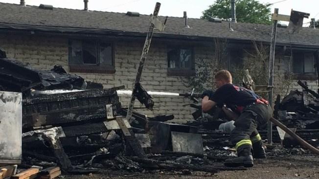 Incendio destruye edificio en Lakewood