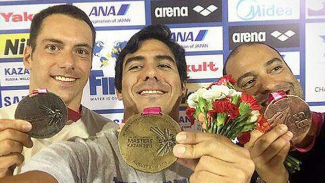 Venezolano gana oro en el Mundial de Natación