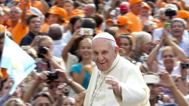 Artículos prohibidos para ver al papa en NY