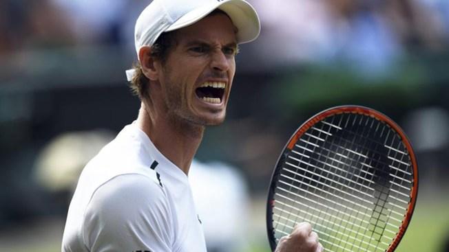 Avanzan en Wimbledon, Nadal y Murray
