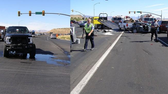 Aparatoso accidente en la SR-9 deja un fallecido y 5 vehículos involucrados