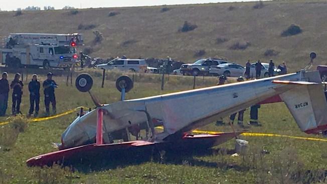 Avioneta se estrella en Fort Collins